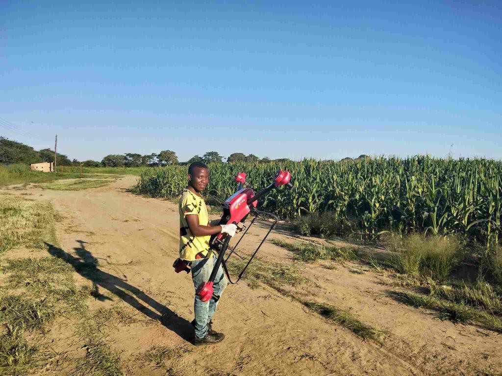 dron, opryski, xag, rolnictwo