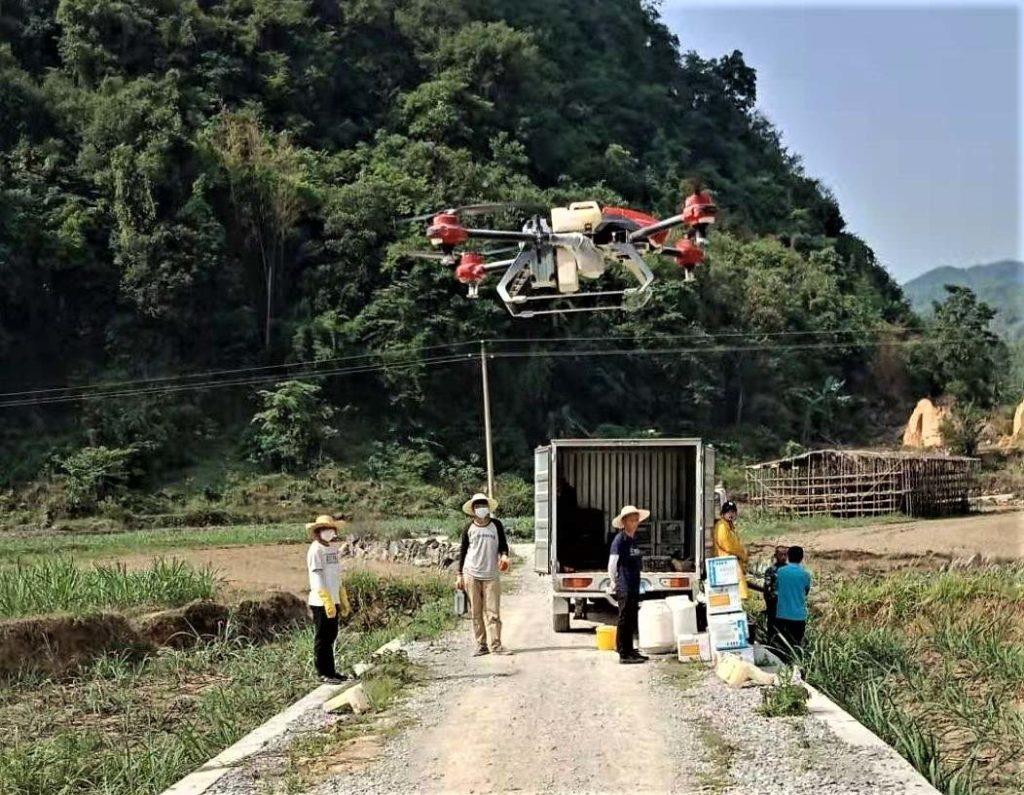 xag, dron rolniczy, dron, rolnictwo
