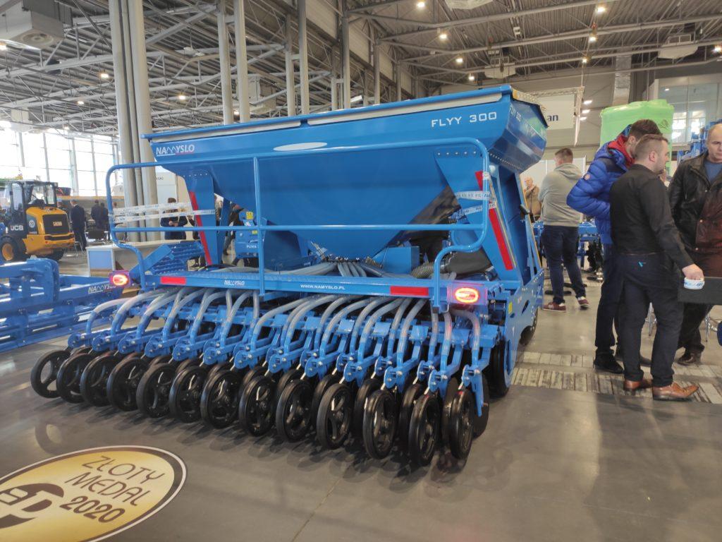 maszyna rolnicza, Targi Polagra, 2020