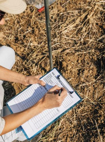pobieranie prób, badanie gleby, gleba, rolnictwo