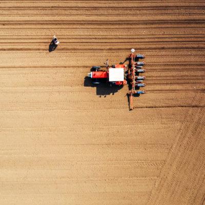 pole, dron, rolnictwo