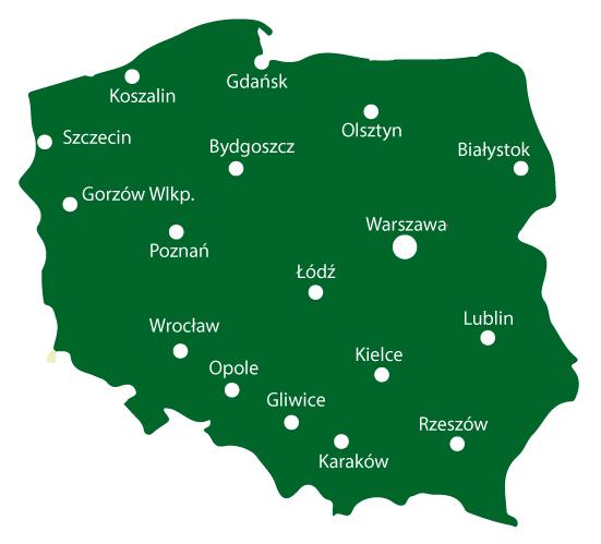 mapa, OSCHR, Okręgowa Stacja Rolniczo Chemiczna, Badania