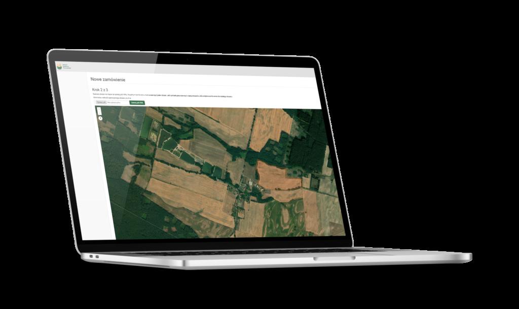 zamówienie, online, próby glebowe, rolnictwo