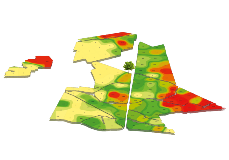 badania glebowe, gleba, mapa
