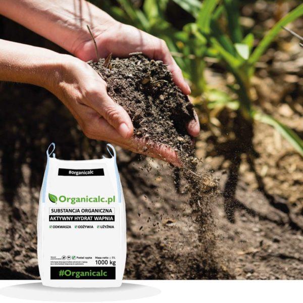 organicalc, wapno, gleba