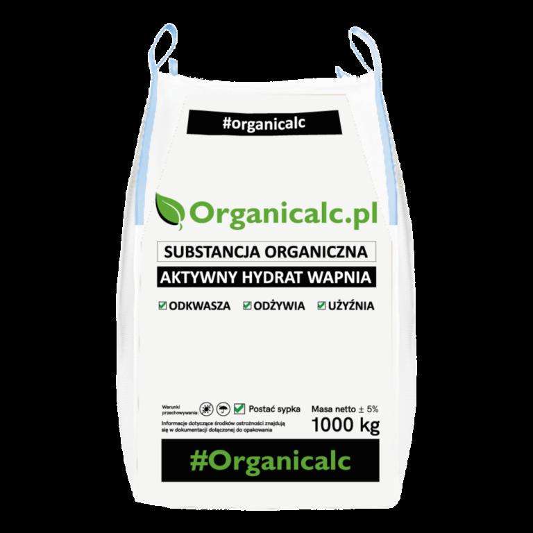 organicalc. hydrat wapna,odkwasza, odżywia, użyźnia, big bag