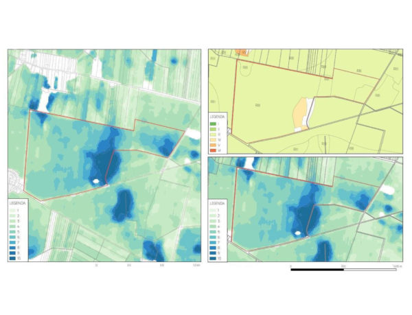 Satelita, badania glebowe, mapy satelitrne