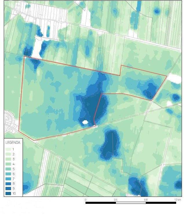 Moazika gleby, Zdjęcia satelitarne, badanie struktury gleby