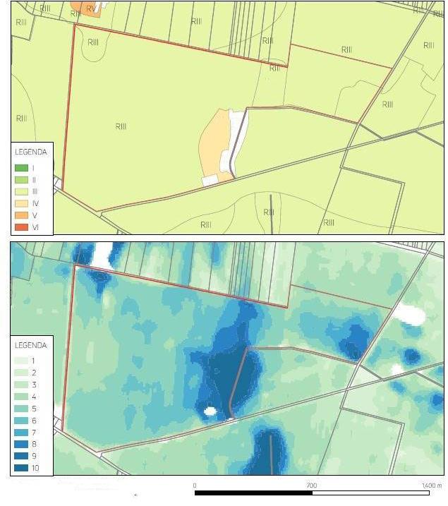 Obrazy satelitarne, skanowanie gleby, struktura ziemi